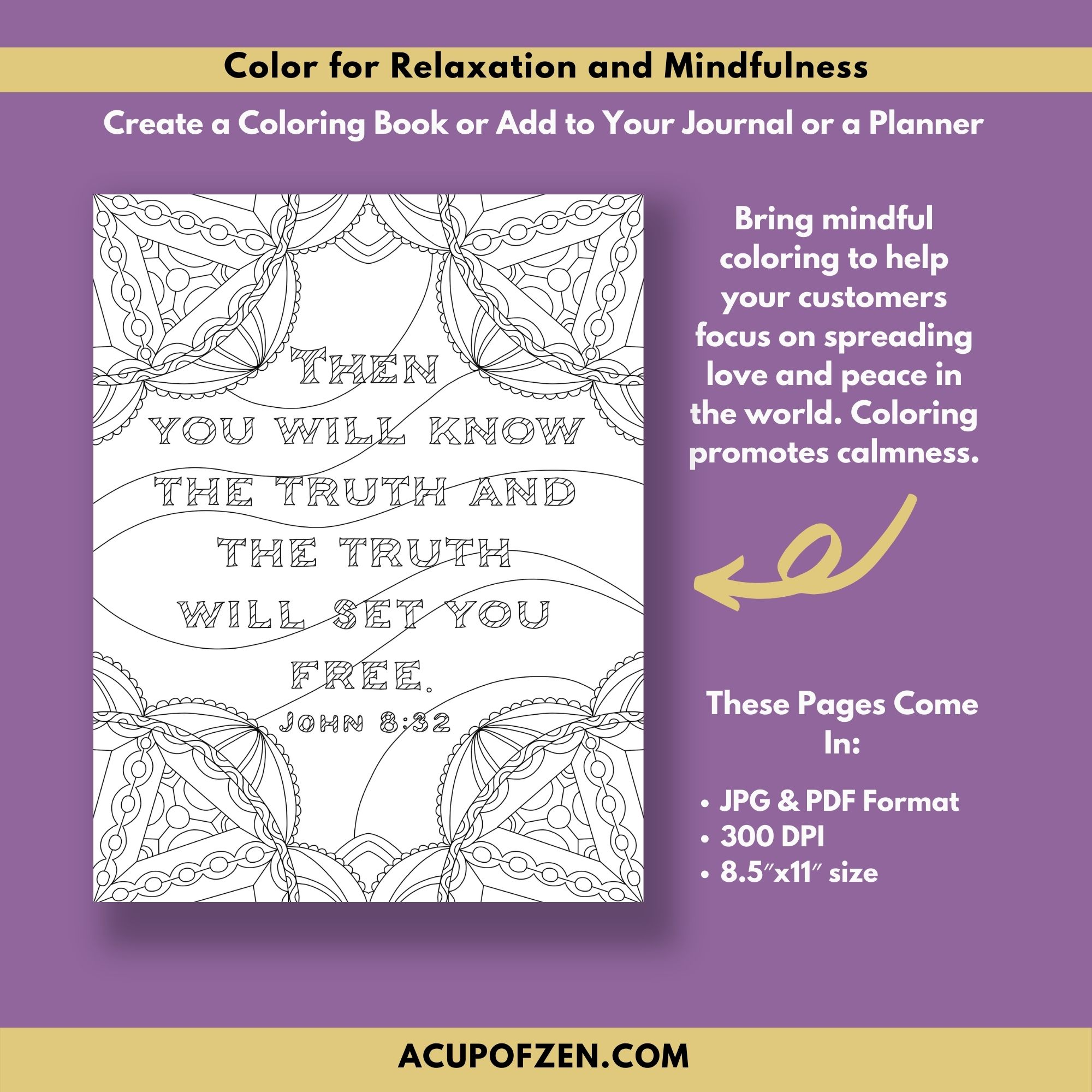 Faith Based Bible Verse Coloring Pages 3
