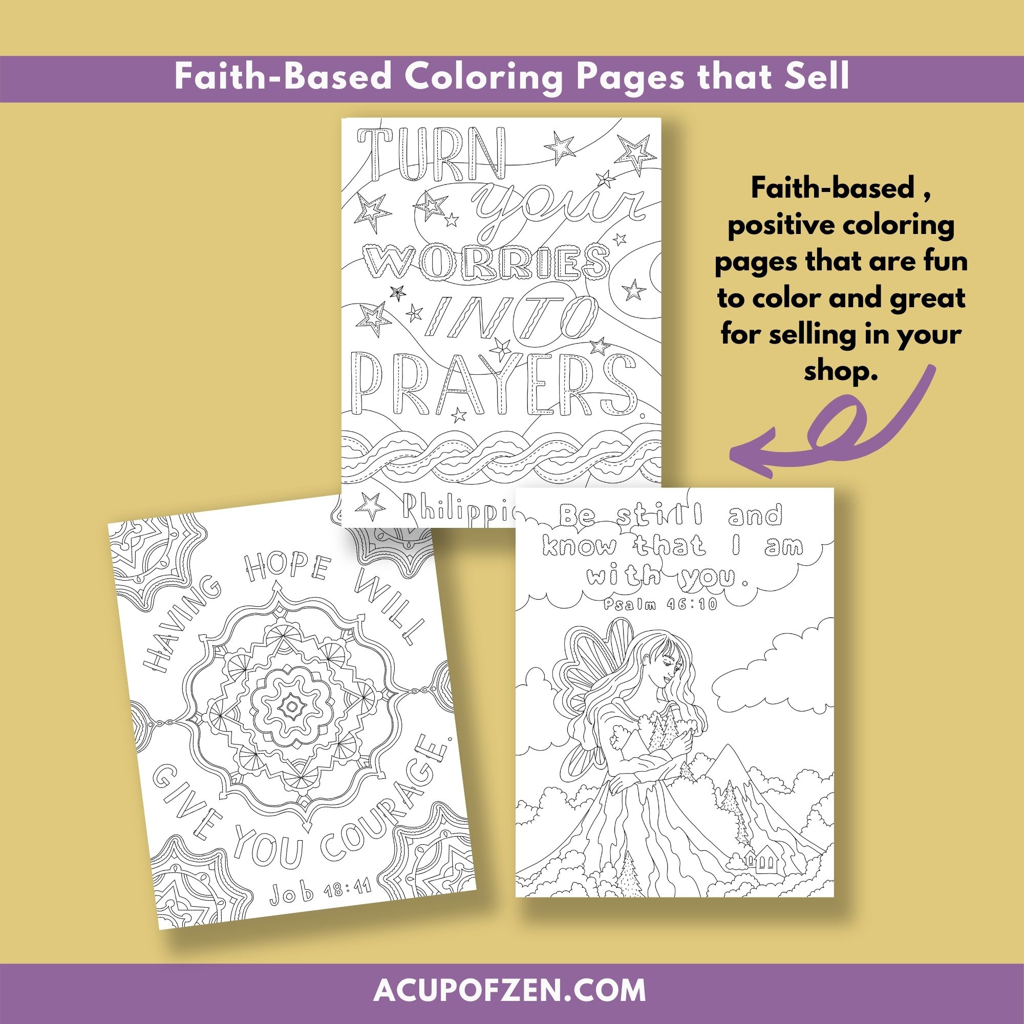 Faith Based Bible Verse Coloring Pages 4