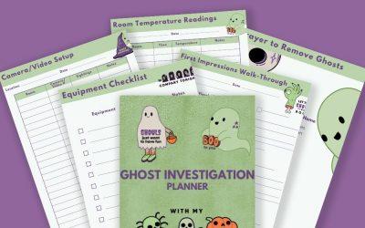 Ghost Investigation & Halloween Planner