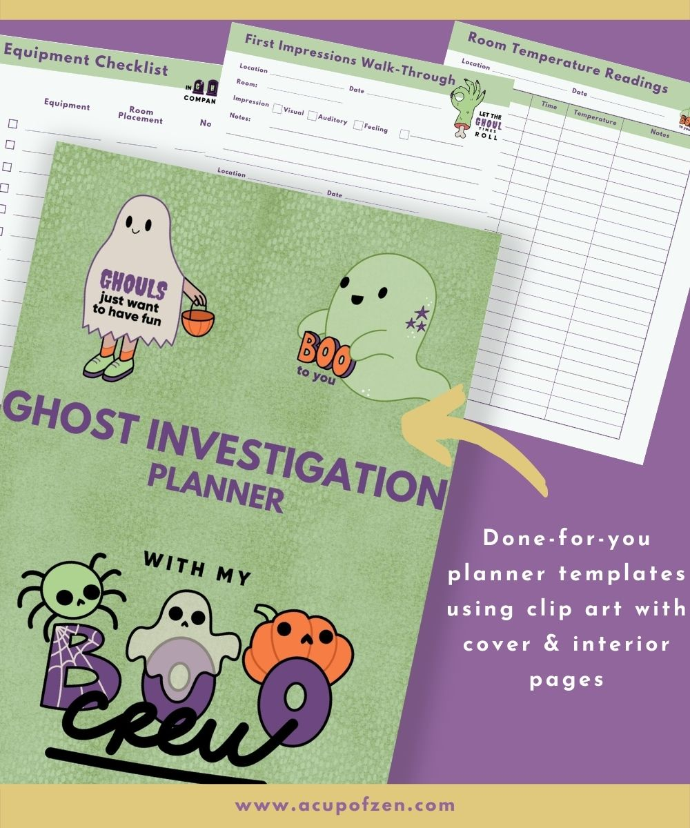 Ghost Investigation Planner Commercial Use