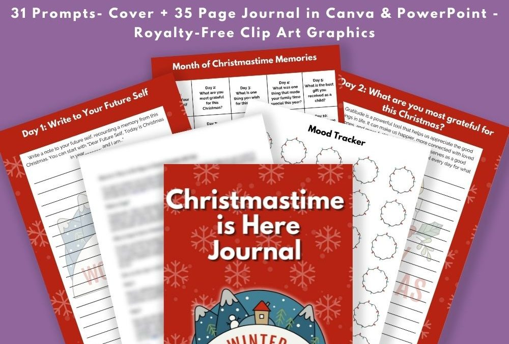 Christmastime is Here Journal